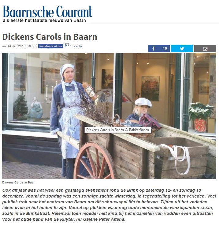 Baarnsche Courant 17-12-2015