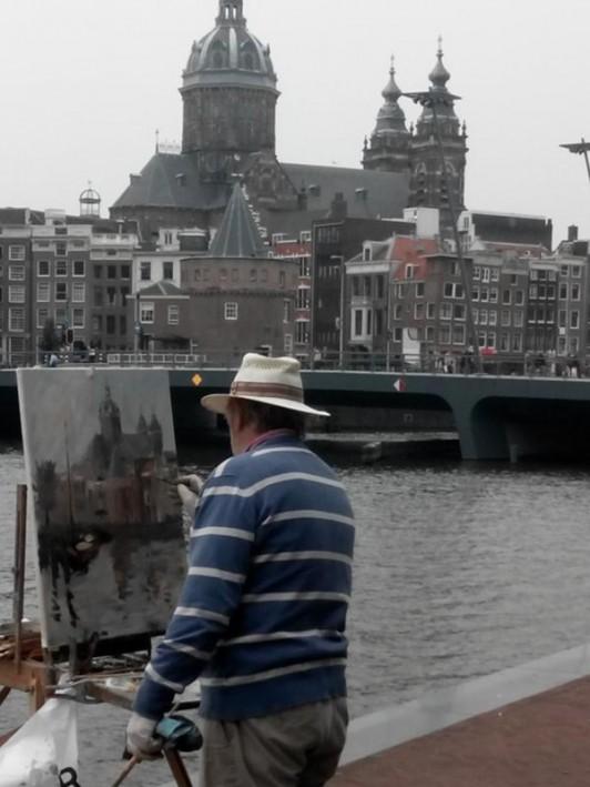 Pintar rapido Amsterdam